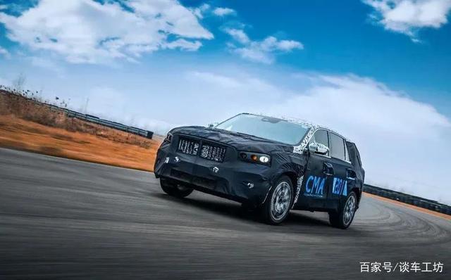 吉利又發力,CMA架構KX11,7座SUV挑戰漢蘭達有戲?