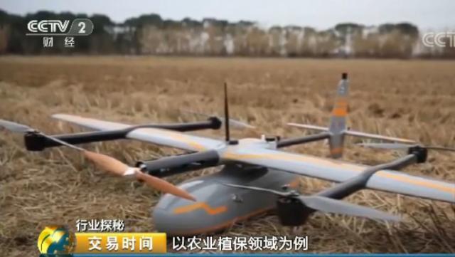 工业无人机行业迎爆发式增长 2020年市场规模将达165亿元
