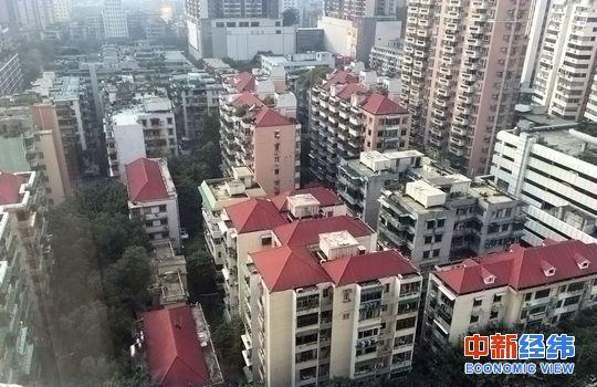北京某小区。中新经纬 钱蕊莎摄