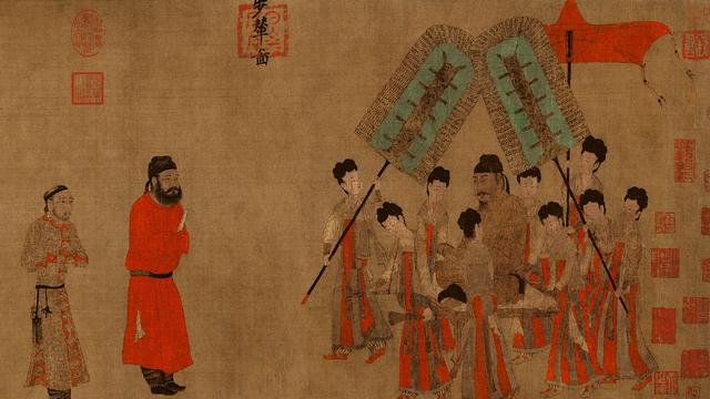 告诉你,传世十大名画有哪些,作者是谁~