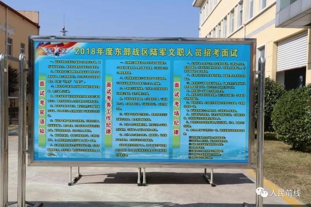 东部战区陆军文职人员招考面试(图6)