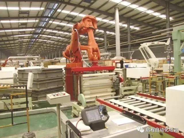数控折弯机自动上料机器人自动化生产线