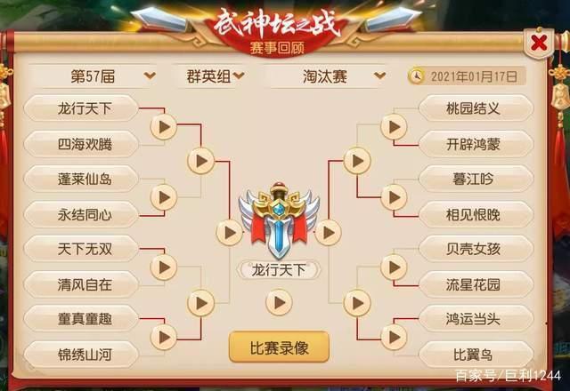 夢幻西遊手遊:初戰武神壇即奪冠!這是什麼神仙團隊?
