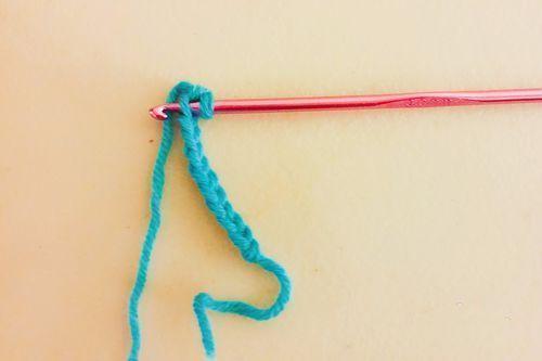男士围巾编制方法步骤九