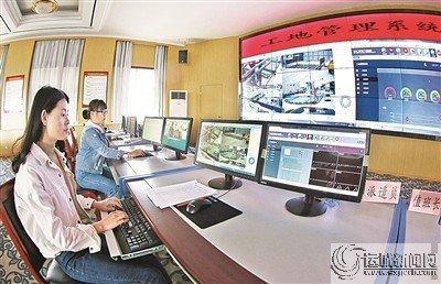山西運城 建筑工地必須安裝揚塵監測系統