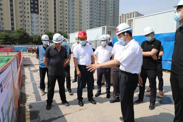端午假期第一天,工委書記王少峰帶隊檢查安全工作