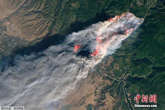 加州山火致25死110人失联