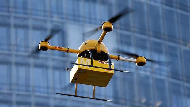 无人机将在快递行业和外卖行业有着举足轻重的地位