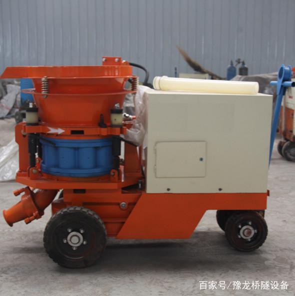 混凝土喷浆机使用说明