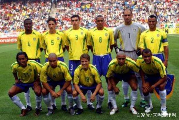 近20年世界杯最强阵容:02年巴西领衔!98年法国