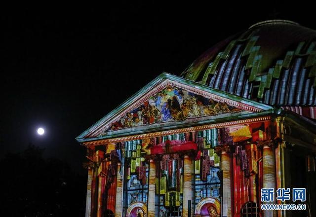 2017年柏林灯光节开幕