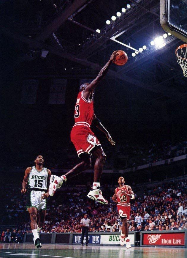 过吗 Air Jordan 6 Carmine 乔丹本人上脚集锦帅爆图片