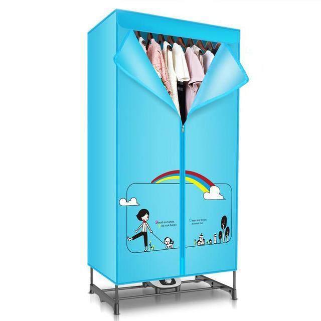 这几款衣服烘干机,既能当衣柜又有烘衣功能的干衣机,快快入手!