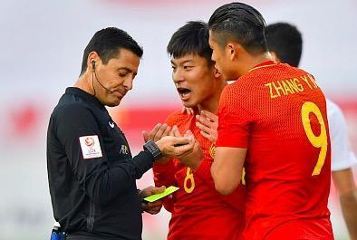 「U23亚洲杯」十人中国1