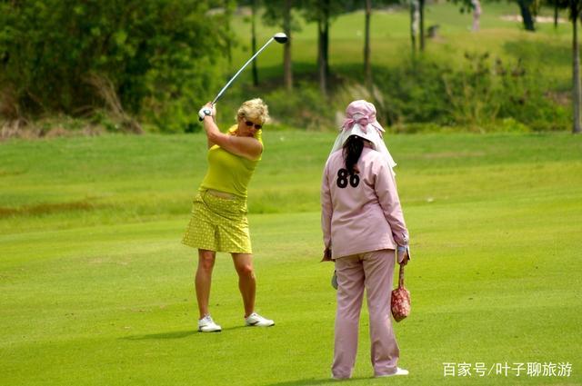 泰国的高尔夫球场