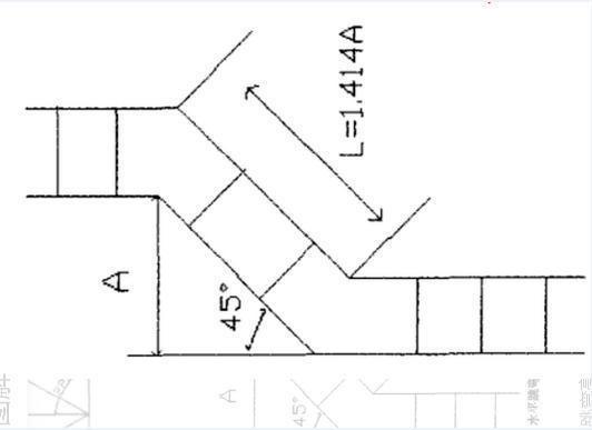桥架各种公式汇总及制作过程图文详解
