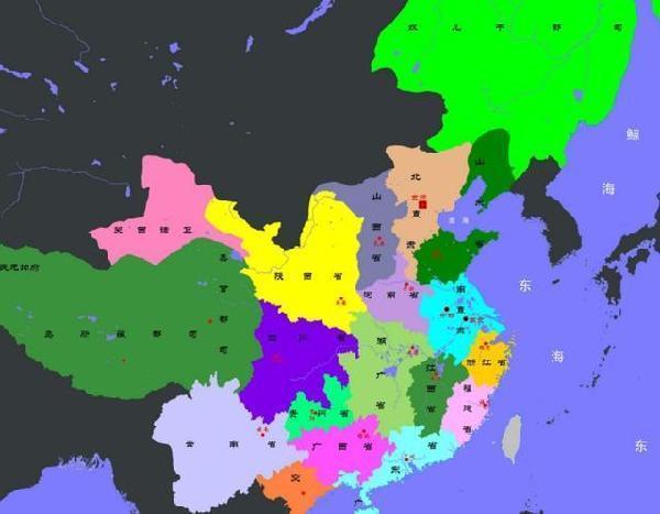 中国古代历朝历代的全盛疆域图