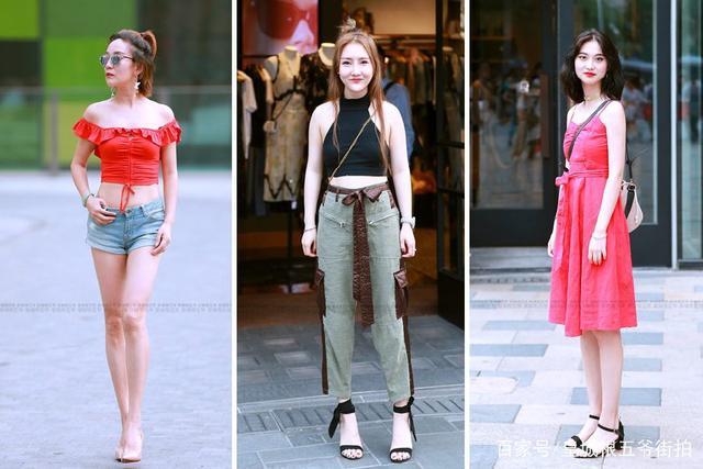 街拍:最时髦的夏日穿搭技巧,原来穿对了也可以这么美