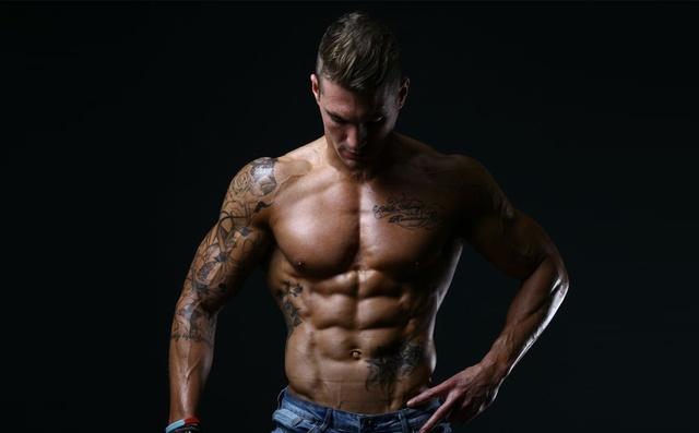 健身男_新一代健身男模Dickerson Ross - iFuun