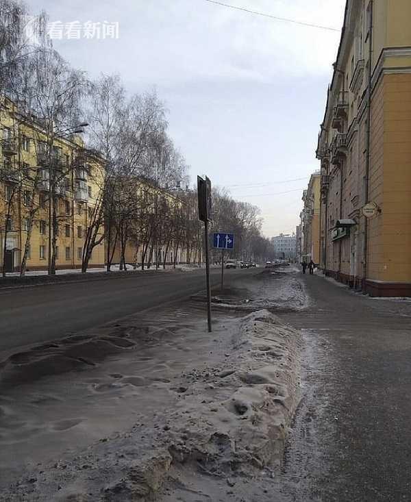俄罗斯绿色雪