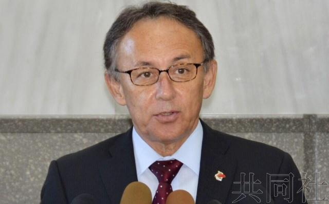 日本冲绳县知事玉城丹尼宣布将就是否赞成美军机场搬迁举行投票