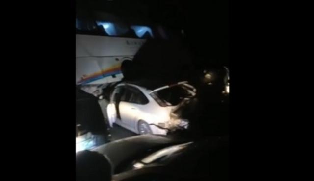 视频:贵州连发两起多车追尾,涉100余辆车,致2人死亡