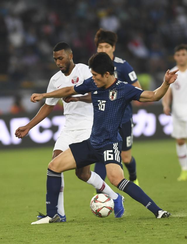 足球--决赛:日本队对阵卡塔尔队(2)