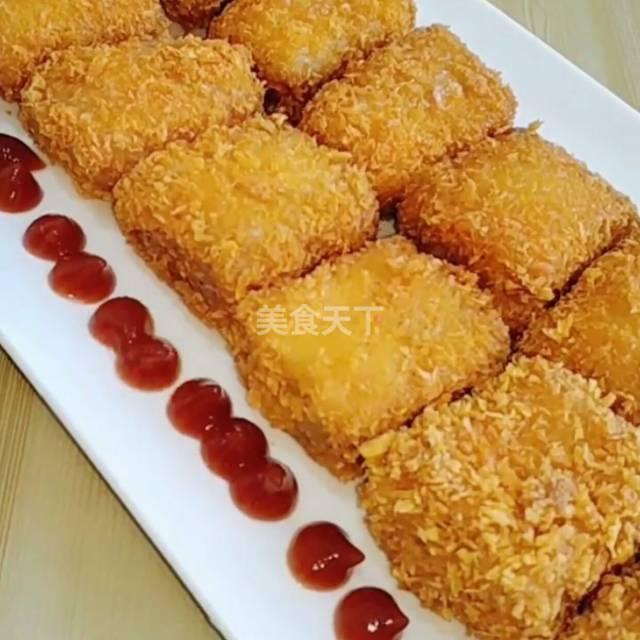 自制上校鸡块,比买的的还酥脆,好吃!