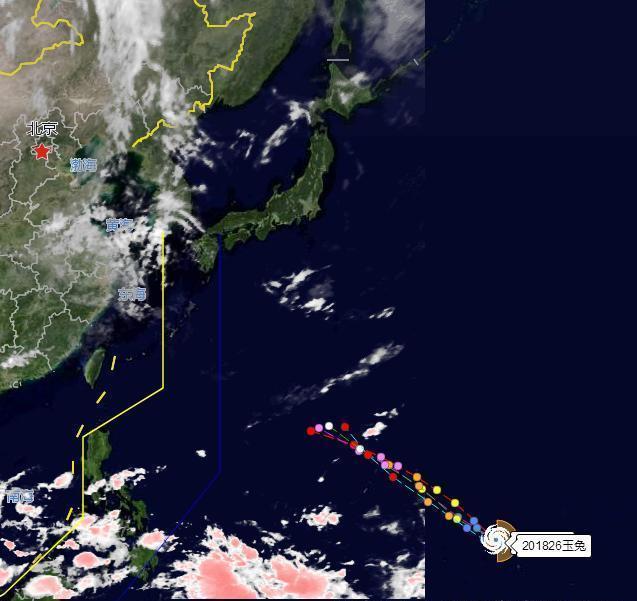 天气预报:新一轮台风玉兔来袭!各国最新预测,日