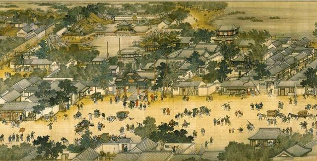 意大利人的画作,为何成为中国十大传世名画?放大十倍见惊人真相