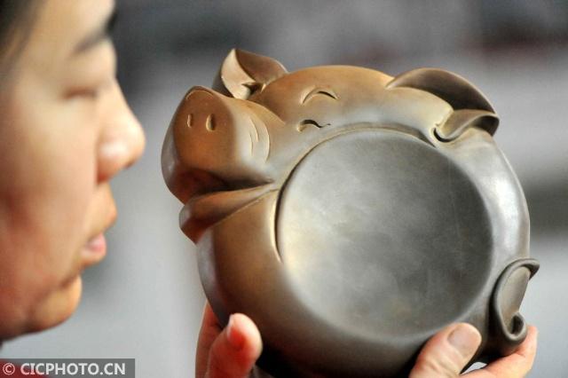 山西绛州:生肖猪砚迎新年 第1张