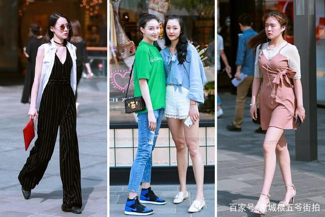 街拍:三里屯可以看到现阶段最时尚的穿搭