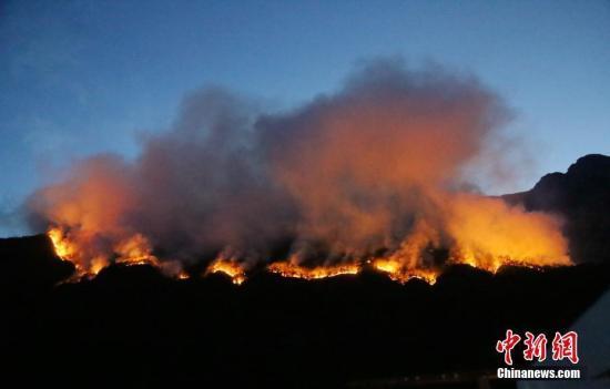 四川凉山州冕宁县森林火灾过火面积达19公顷