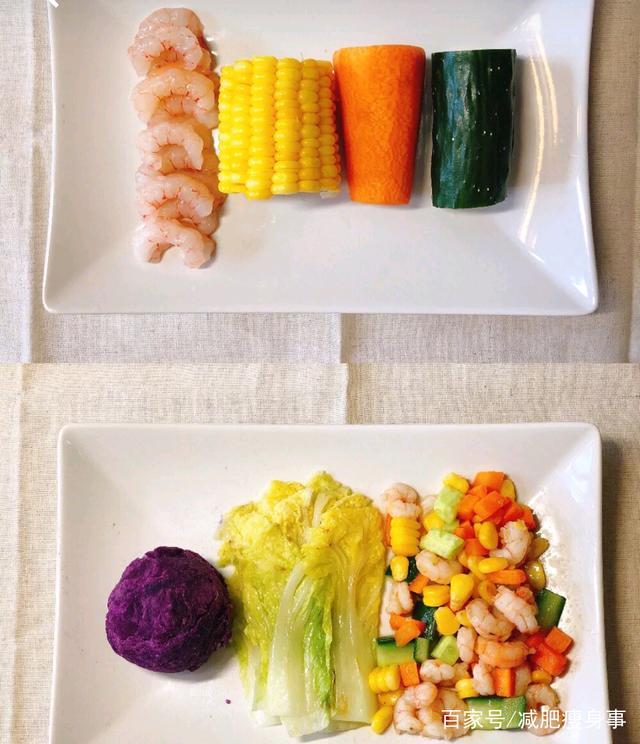 一周减肥食谱分享,只要吃的对,瘦下来很简单
