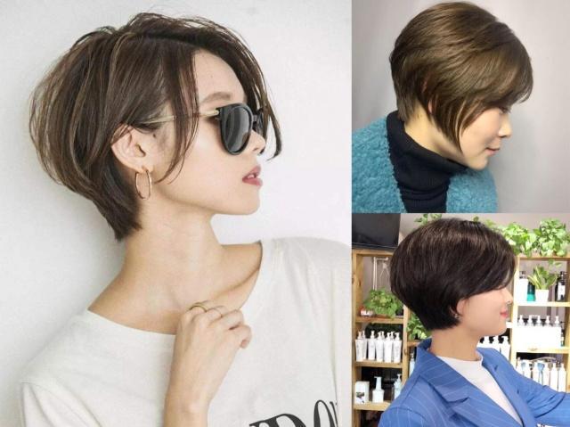 """2019流行""""圆弧短发""""发型,这5款让你瘦脸又减龄!"""