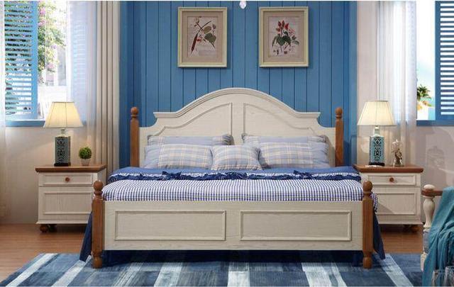 一组床头柜定制效果图展示