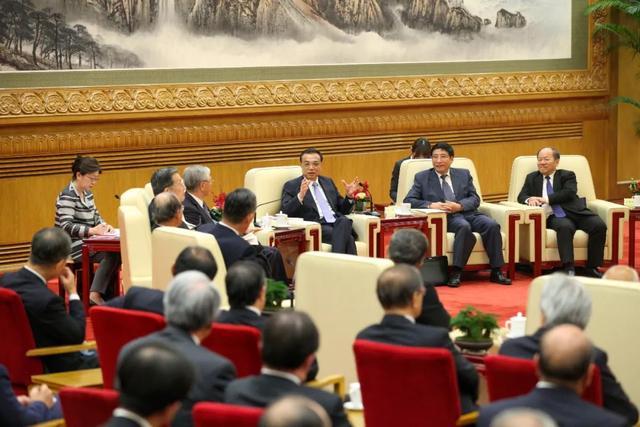 李克强会见日本经济代表团-增加中日交流